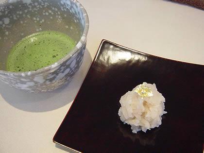 抹茶と和菓子【540円】